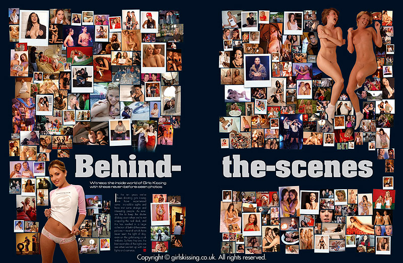 The Behind-the-Scenes page, as it appears in the book.